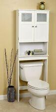 Bathroom Over Toilet Cabinet Space Saver Storage Unit Shelves Display Vanity NEW