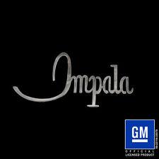 Speedcult / New Item /1968 Impala Script / Metal / Sign / Gmimp01