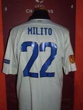 MILITO INTER 2012/2013 MAGLIA SHIRT CALCIO FOOTBALL MAILLOT JERSEY SOCCER