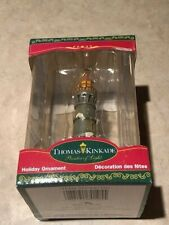 Thomas Kinkade Lighthouse Christmas Ornament K Adler w Box Fundraiser - Free Shp