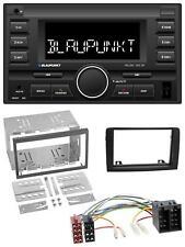 Blaupunkt MP3 USB 2DIN Bluetooth AUX Autoradio für Fiat Idea ab 05 schwarz