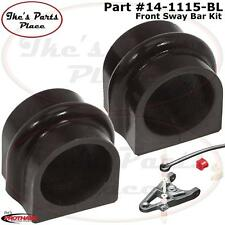 Prothane 14-1115-BL Front 34mm Sway Bar Bushing Kit for 03-04 Nissan 350Z Poly