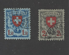 SWITZERLAND 1924 RED CROSS STAMPS  VERY FINE USED.