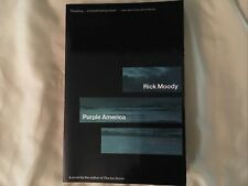 Purple America by Rick Moody (1997, Trade Paperback) - Signed