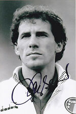 Franco Baresi, AC Milan & Italy, signed 6x4 inch photo. COA. Proof.