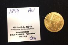 1894 Au $10 Gold Liberty Eagle Lot 1574F