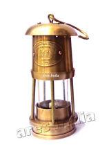 "6"" New Antique Vintage Style Brass Nautical Miner Ship Lantern Oil Lamp Maritime"