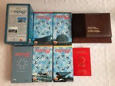 Rare Vintage VHS Vol 1-4 Expo 67 Souvenir Stamps Passeport Timbres Collection