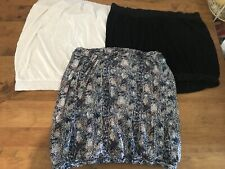 Set Of 3 Next Strapless Tops Size 20/22