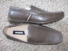 """NEW STEVE MADDEN BROWN """"RANDAL"""" SHOES MENS 9 LOAFERS,  SLIP ONS   FREE SHIP"""