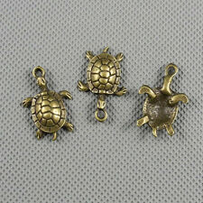 2x Jewelry Making Pendant Vintage Retro Findings Charms Clasp A2752 Sea turtle