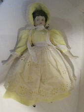 """Vintage 1970's 17"""" china head Japan reproduction in very nice outfit Vgc"""
