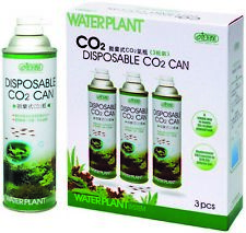 More details for ista waterplant disposable co2 can x3 pack planted plant fish tank aquarium