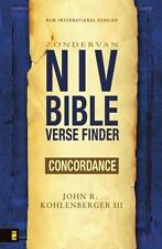 NEW - NIV Bible Verse Finder by Kohlenberger III, John R.