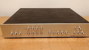 Vintage Pioneer U-24 Program Selector Preamp (3) Amp (3) Turntables (6) Aux/Tape