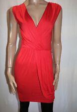 ASOS PETITE Brand Red Sleeveless Wrap Style Dress Size 8 BNWT #SE37