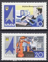 DDR 1987 Mi. Nr. 3132-3133 Postfrisch ** MNH