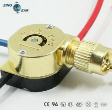 Pull Chain Switch Zing Ear ZE-110M Shell Brass Full Metal With 2 Ft Chain