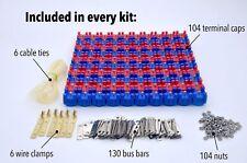 Vruzend DIY Solderless 18650 Battery Holders. No Spot Welding. Colour Coded