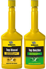KIT 2 ADDITIVO TOP DIESEL + TOP BENZINA BARDAHL PULITORE INIETTORI E VALVOLE