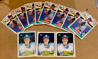 1989 Randy Johnson RC Rookie Card Lot of 11 Mint Condition. HOF. The Big Unit. S
