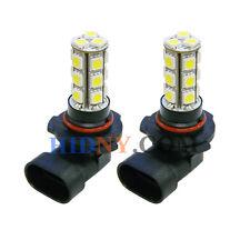 2x 9005 HB3 18-SMD 5050 LED SMD Fog Light DRL Driving Lamp Super White Strobe