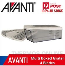NEW Avanti Boxed 4 Blades Slicer & Grater Set, Gift Boxed / Grating / Slicing