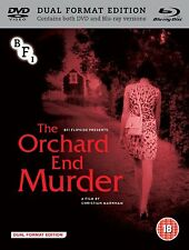 THE ORCHARD END MURDER di Christian Marnham BLURAY+DVD in Inglese NEW .cp