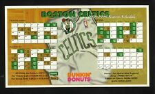 Boston Celtics--1998-99 Magnet Schedule--Dunkin' Donuts