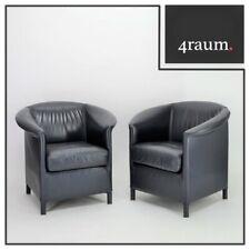 Wittmann Aura Sessel Leder Lounge Cocktail Club Designer Relax Büro Office Stuhl