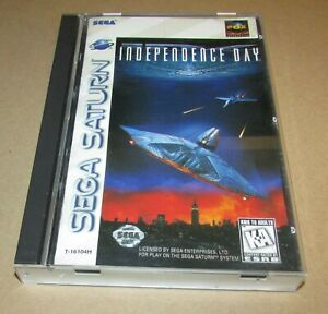 Independence Day for Sega Saturn Complete Fast Shipping!