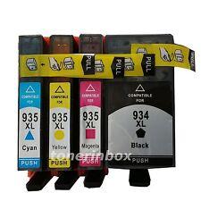 4pk 934XL 935XL Ink Cartridge For HP Officejet 6812 6830 6815 6835 6230