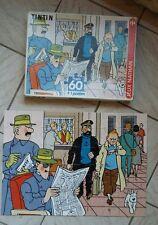 Puzzle tintin . Hôtel cornavin .Hergé . 1994.   Complet