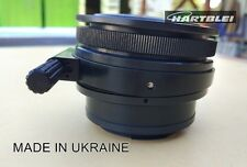 Hartblei Pentacon Six 6 P6 Kiev 60 88CM Lens to Nikon Camera Adapter Tilt 6°
