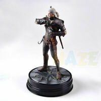 The Witcher 3 Wild Hunt Geralt von Rivia Action Figure Modell Spielzeug 24cm PVC
