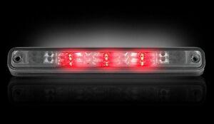 RECON SMOKED LED THIRD 3RD BRAKE LIGHT LENS FOR 94-98 GMC C1500 C2500 C3500 B