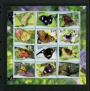 Wholesale Lot Butterflies. Tonga-Niuafo'ou #287. Cat. 55.00