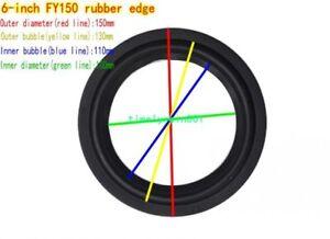 """1pcs 6""""inch Speaker surround rubber Edge HiFi Audio repair Parts FY-150"""