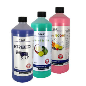 Air Freshener 1L Concentrated - Makes up to 5L. 320+ Scents, Home Car Pet