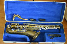 "Vintage ""Pierre Maure Artiste"" German Made Tenor Sax - Professionally Overhauled"