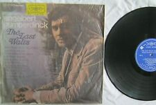The Last Waltz Englebert Humperdinck LP First FL-1635 VG+ Taiwan Import