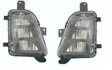 VOLKSWAGEN GOLF GTI 2014-2016 RIGHT LEFT FOG LIGHTS DRIVING LAMPS BUMPER PAIR