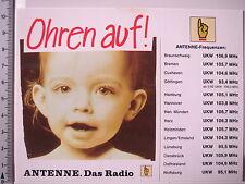 Aufkleber Sticker Antenne - Das Radio - Sender - Rundfunk - V2 (3070)