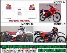 kit adesivi stickers compatibili xl 125 r 1984