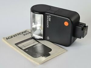 Agfa Agfatronic 200B Flash Unit With Instructions, Tested Working, Excellent