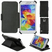 Fundas con tapa de piel para teléfonos móviles y PDAs Samsung