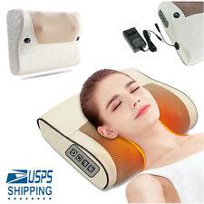 Electric Massage Pillow Heating Deep Kneading Neck Shoulder Pain Relief Massager