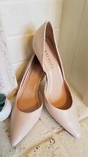 Women's TALBOTS Ivory Slip On Pointed Toe Dress Heel Shoe Size 7.5B NEW