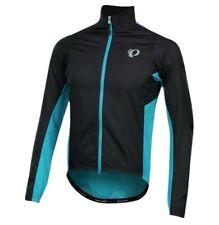 Pearl Izumi Mens Cycling Jacket Elite Pursuit Hybrid Large L NWT Turquoise Black