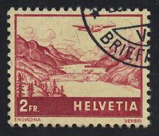 01869 Switzerland Scott #C33 2 Francs airmail used